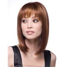 Women Short Bob Straight Hair Wig Human Hair Wigs Cosplay Glueless Full Wigs