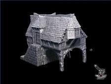 Maison de Marchand FW3D, décor Warhammer, 9th Age, King of War, 28mm