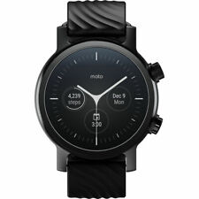 Motorola 360 WearOS Touchscreen Smartwatch 42.5MM iPhone & Android (Gen 3,Phanto