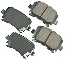 For Audi A3 A4 A6 TT Quattro VW CC Jetta Passat Rear Disc Brake Pads Akebono