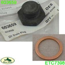 LAND ROVER OIL DRAIN PLUG & WASHER DISCOVERY I RANGE CLASSIC ETC7398 603659 ALLM