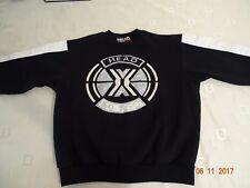 Vintage 80's,90's Head sportswear Ski Areo sweatshirt black white size M RARE