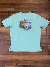 New listing Tommy Bahama Cotton Starting Pitcher Surf Report Graphic T-Shirt M Mens A3