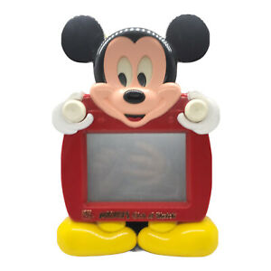 Vintage Ohio Art Walt Disney Mickey's Etch A Sketch Mickey Mouse Collectible Toy
