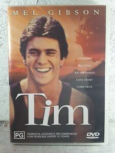 TIM DVD Mel Gibson 1979 Movie RARE - REGION 4 AUSTRALIAN RELEASE