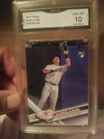 2017 TOPPS #287 AARON JUDGE RC YANKEES CATCHING GEM MINT 10 GMA. PSA 10?