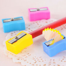 10PCS Candy Colors Cute Pencil Sharpener School Kids Favorite Stationary Gift