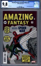 Amazing Fantasy #15 Facsimile Edition Reprints 1st Appearance Spider-Man CGC 9.8