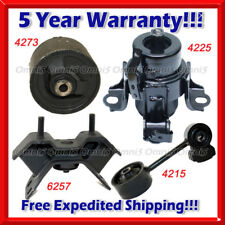 K712 Fit 2000-2004 Toyota Avalon 3.0L, Engine Motor & Trans Mount Set 4PCS