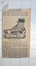 1902 The Roller Skate Constructed With Ballbearings To Level Ice Surface