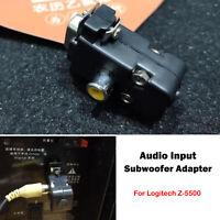 1*Audio Input Subwoofer Adapter Receiver Adapter Upgrade Kit For Logitech Z-5500