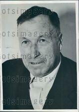 1935 Captain Thomas Grant of Tanker Ship SS Montebello Press Photo