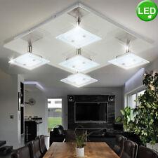 Diseño Lámpara de Techo Led Salón Spot Cristal Foco Iluminación Móvil