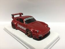 Custom Hot Wheels Porsche RWB 930 Supreme Edition W/ Real Riders