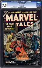 Marvel Tales #126 CGC 7.0 FN/VF Unrestored Marvel PCH Pre Code Horror OW Pages