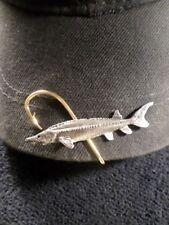McCloud9 wildlife Hat Clip,Hooks { sturgeon fish }