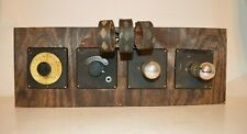 New ListingEarly 1920's Deforest Four Panel Radio Receiver w/Three Coil Tuner