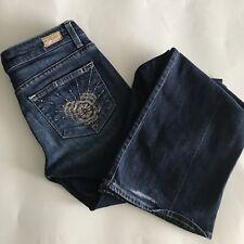 Paige Premium Denim Jeans Laurel Canyon Bootcut Sz 27 Made In USA