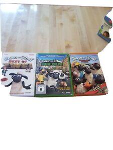 DVD Shaun das Schaf 3 Stück