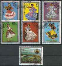 Timbres Folklore Barrages Paraguay 1864/70 o lot 28773 - cote : 10 €