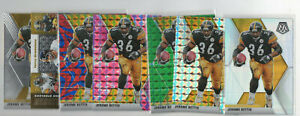 7 count lot 2020 mosaic Jerome Bettis Color Prizms Green, Pink, Silver, Reactive