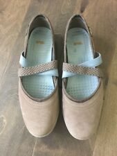 Teva Shoes Womens Size 7.5 Ankle Strap Mary Jane Gray Blue 1017147