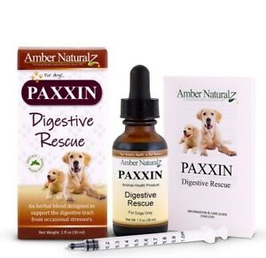 Amber Naturalz - Paxxin Digestive Rescue - Healthy Digestion for Pets, 1 oz