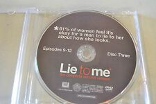 Lie To Me Second Season 2 Disc 3 Replacement DVD Disc Only