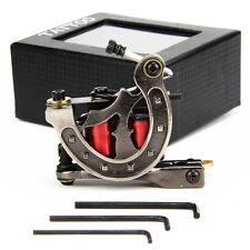 Iron Frame 10 Wraps 28mm Copper Wire Coils Tattoo Machine Gun Shader