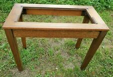 Vintage Gaylord Bros Oak LIBRARY CARD CATALOG BASE SECTION WITH LEGS