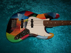Sweet Fender Mexican Jazz Bass standard MIM Mexico guitar vintage design