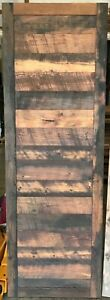"""Authentic Reclaimed 28"""" Brown Wood Barn Door - Apollo - USA - FREE LOCAL PICKUP"""