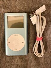 Apple iPod mini 1st Gen Blue (64 Gb) Upgrade To Ssd