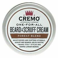 CREMO ONE-FOR-ALL BEARD & SCRUFF CREAM - Forest Blend Scent - 4 oz