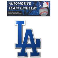 New MLB Los Angeles Dodgers Car Truck Suv Aluminum Color Emblem Decal
