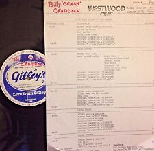 Radio Show: LIVE FROM GILLEY'S CRASH CRADDOCK 3/17/84 9 TUNES/12 MIN ROCK MEDLEY