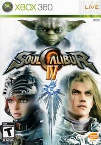 Soul Calibur IV - Xbox 360 Game Only