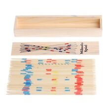 Traditional Mikado Spiel Wooden Pick Up Sticks Set Traditional Game With Box Toy