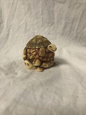 Harmony Kingdom Wishful Thinking Turtle Uk Made Figurine Vintage