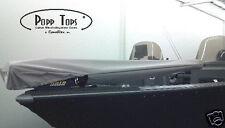 """Minn Kota Trolling Motor Cover  By PoppTops Fits Riptide ST  w/54"""" Shaft.  GRAY"""