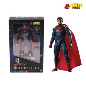 "Hiya Toys DC Comics Injustice 2 Superman Enhanced 3.75"" Figure (1:18 Scale)"