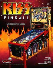 Stern KISS Limited Edition LE 2015 Original NOS Pinball Machine Promo Flyer