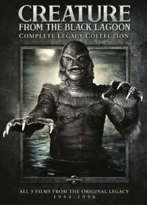 Creature from the Black Lagoon Complete Legacy Collection 3 Films Region 4 DVD