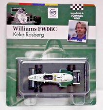 1:43 scale die cast Classic Formula 1 F1 Williams FW08C - 1983 #1 - Keke Rosberg