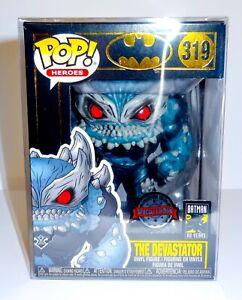 Batman 80 Years The Devastator SE 319 Funko Pop Vinyl with Pop Protector