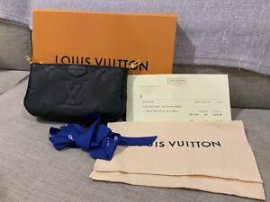 Louis Vuitton Mini Pochette Accessories Monogram Empriente Black