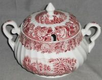 Wood & Sons ENGLISH SCENERY PATTERN Soup Tureen SWIRL DESIGN Made in England