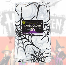 Halloween Plastic Cloths Tableware Party Decoration Bloody Cobwebs Table Cover