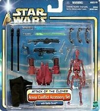 Star Wars Attack of The Clones Arena Conflict Accessory Set With Battle Droid