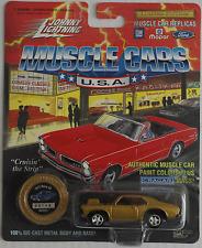 Johnny Lightning -'72/1972 Chevy Nova SS goldmet. nuevo/en el embalaje original